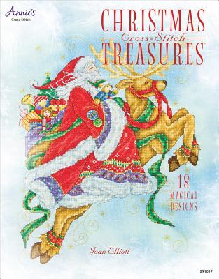Christmas Cross-Stitch Treasures By Elliott, Joan